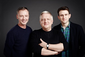 L-R John Simm, Simon Russell Beale & Harry Melling in The Hothouse, Trafalgar Studios, photo Jay Brooks2 copy